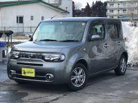 ニッサン キューブ 15X FOUR Vセレクション 4WD 85万円