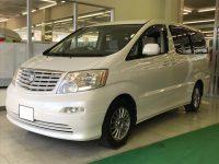 トヨタ アルファードV AX 4WD 48万円