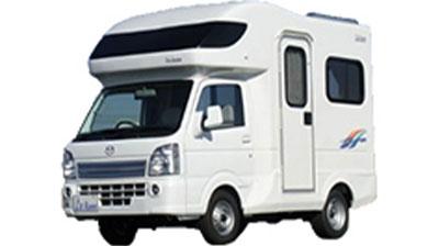 キャブコン:軽トラックベース(白ナンバー)