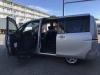 ニッサン セレナ アンシャンテ助手席スライドアップシート20X 4WD 98万円