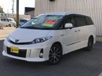 トヨタ エスティマハイブリッド アエラスプレミアムエディション 4WD 260万円
