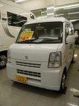 車中泊用オリジナルベッドキット付H25エブリィV Joinターボ 4WD 85万円