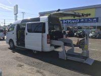 トヨタ ハイエースV ウェルキャブCタイプ 4WD 200万円